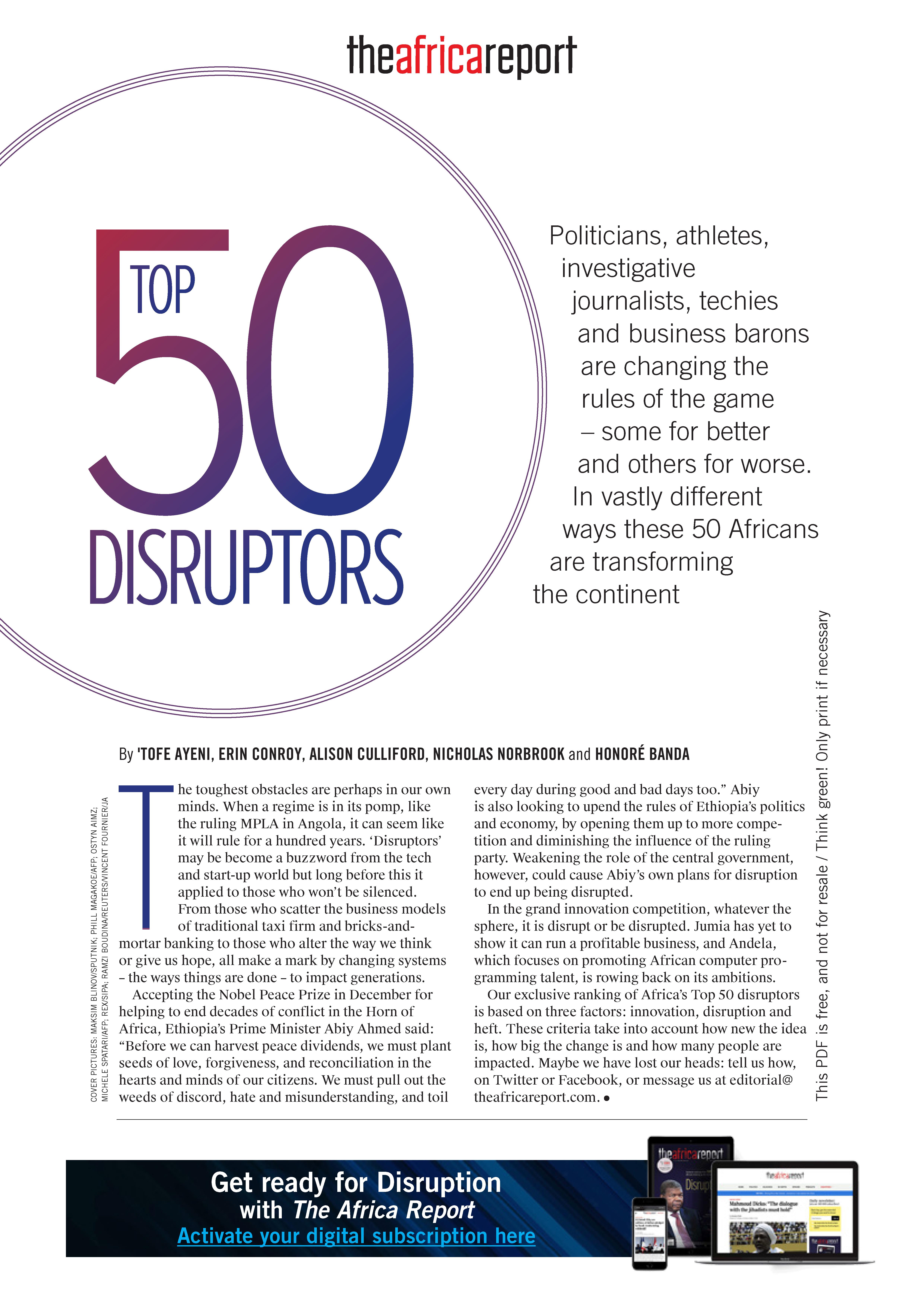 Top 50 Disruptors - Seite 2