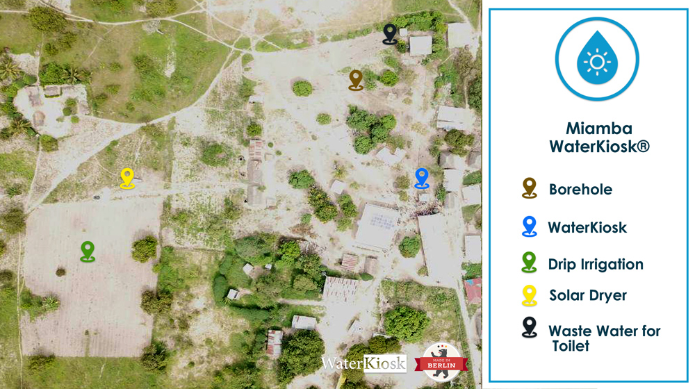 WaterKiosk - Miamba-Map