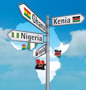 Titel Flyer Afrika-Roadshow 2012