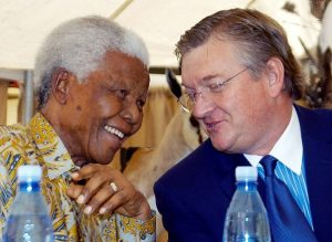 Whitey Basson and Nelson Mandela